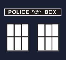 Police Public Call Box - Tardis  by SwanStarDesigns