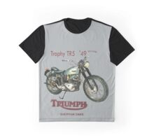 1949 Triumph Trophy TR 5 T Shirt   Graphic T-Shirt