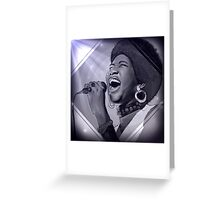 Aretha Franklin  Greeting Card