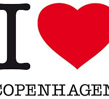 I ♥ COPENHAGEN by eyesblau
