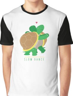 Two Slow Dancing Turtles In Love Graphic T-Shirt