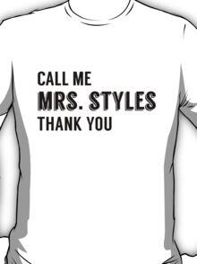 """Mrs.Styles"" T-Shirt"