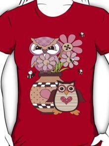 Love Owls .. tee shirt T-Shirt