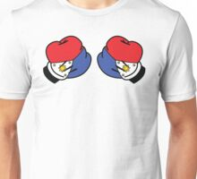 MP Mickey Pacquiao Filipino Flag Boxing Gloves by AiReal Apparel Unisex T-Shirt