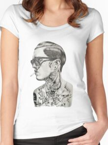 Jimmy Q drawing Women's Fitted Scoop T-Shirt