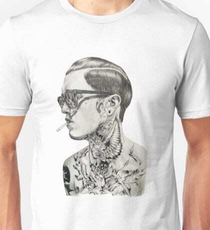 Jimmy Q drawing Unisex T-Shirt