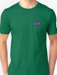 Pocket Protector - Tardis T-Shirt