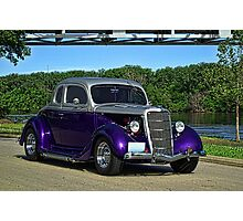 1935 Ford Custom Coupe Photographic Print