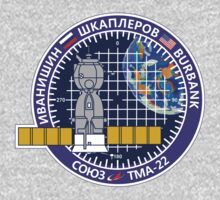 Russian Mission Patch- Soyuz TMA 22 by cadellin