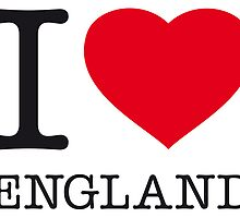 I ♥ ENGLAND by eyesblau