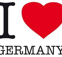 I ♥ GERMANY by eyesblau