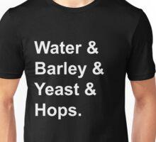 Beer is punk rock.  Unisex T-Shirt