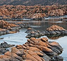 Ice and Granite Dells at Prescott Arizona by Lee Craig