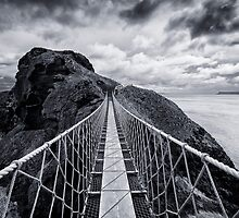 Carrick-a-Rede Rope Bridge by Chris McIlreavy