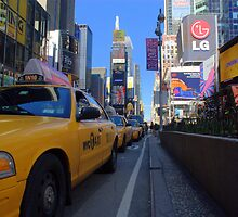 Taxi View by sarahlizwills
