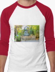 Buddha Men's Baseball ¾ T-Shirt