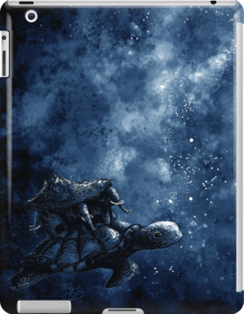 Cosmic Turtle - IPHONE AND IPAD CASES by tyna