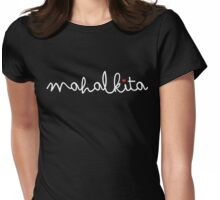 Mahal Kita I Love You by AiReal Apparel Womens Fitted T-Shirt