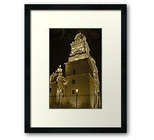 ©MS Catedral De Morelia IIAB Sepia S Framed Print