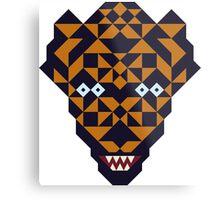 Mutant tiger Metal Print