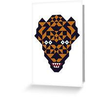 Mutant tiger Greeting Card