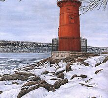 Little Red Lighthouse by Shannon Sneedse