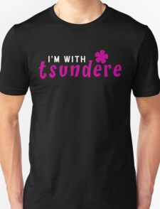 I'm with tsundere [Tsundere Pair Shirts] T-Shirt