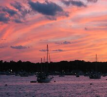Sunset - Great Kills Harbor 2 by MBoothny
