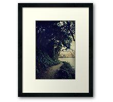 Just Around the Corner Framed Print
