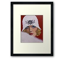 BEAUTIFUL BLUE EYES Framed Print