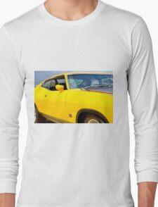 Yellow Ford XA coupe Long Sleeve T-Shirt