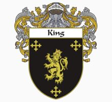 King Coat of Arms/Family Crest by William Martin