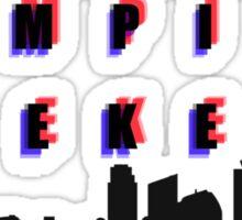 Vampire Weekend Band Shirt Sticker