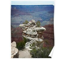 Grand Canyon Rock on South Rim Poster