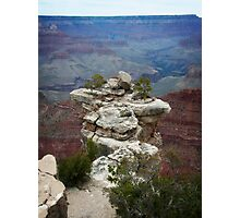 Grand Canyon Rock on South Rim Photographic Print