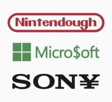 Game Company Logo Parodies Kids Clothes