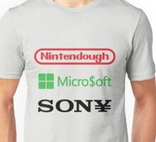 Game Company Logo Parodies Unisex T-Shirt