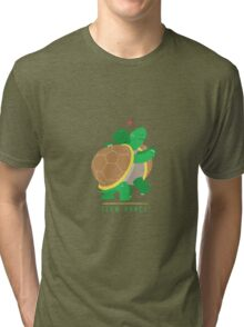 Two Slow Dancing Turtles In Love Tri-blend T-Shirt