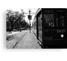 Trolley Car Canvas Print