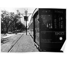 Trolley Car Poster