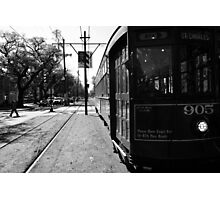 Trolley Car Photographic Print