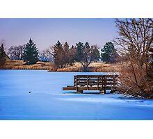 Frozen Ground Photographic Print