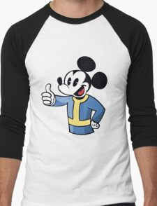 Thumbs up Mickey Men's Baseball ¾ T-Shirt