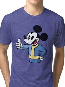 Thumbs up Mickey Tri-blend T-Shirt