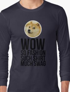 Wow. Such offer. So cool. Long Sleeve T-Shirt