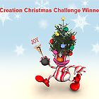 Creative Christmas Challenge Winner for my group by Bunny Clarke