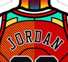 Michael Jordan - Stained Glass Sticker
