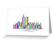 Skyline - New York Greeting Card