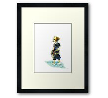 Sora In The Sea Framed Print