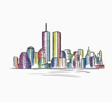 Skyline - New York T-Shirt